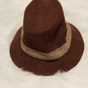 Puma Brown Tan Wool Hat